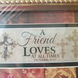 """""""A Friend Loves at All Times"""" picture, NIP"""
